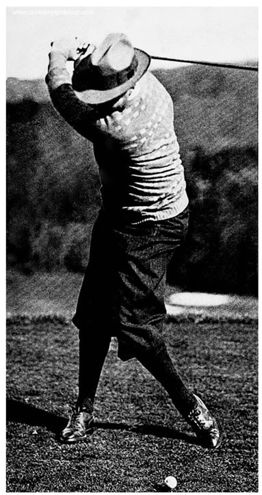 MacDonald Smith At Top of The Backswing My System of Teaching Golf By Ernest Jones June 1932