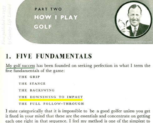 How I Play Golf The Five Fundamentals of The Game By Bobby Locke Four Times British Open Champion