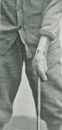 B. S. Weastell Fig. 2. Correct Grip With The Left Hand