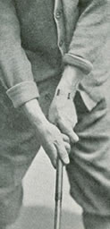 B. S. Weastell Fig. 3. Both Hands In Correct Overlapping Grip
