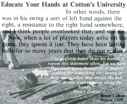 Educate Your Hands At Henry Cotton's University