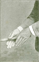 Willie Park Junr. Fig. 4 - The Grip - First Stage
