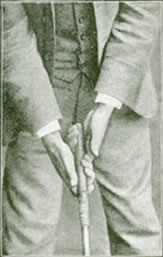 Willie Park Junr. Fig. 5 - The Grip - Second Stage