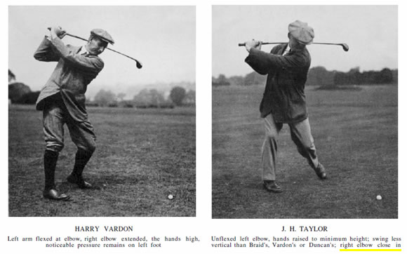 Harry Vardon J. H. Tayolr Golfing Swings Golf Illustrated