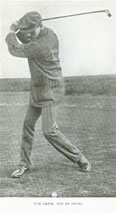 The Drive Top of The Swing James Braid 1909
