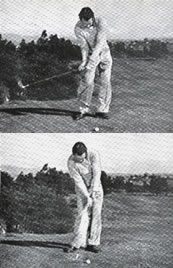 The Golf Clinic Lloyd Mangrum - The Hips in Iron Play