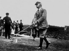 Mr John Ball British Amateur Champion 1912