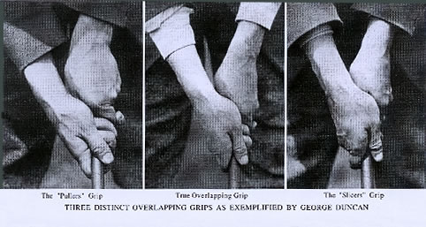 Three Distinct Overlapping Grips As Exemplified by George Duncan