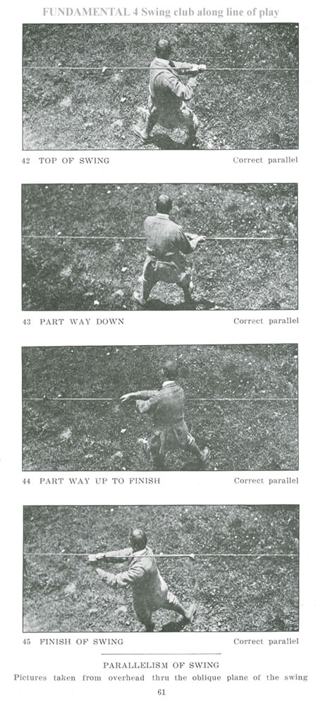 Parallelism of Swing Correct Parallel of the Swing Seymour Dunn
